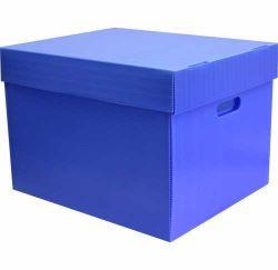 Plastik Arşiv Kutusu 5 Klasörlük