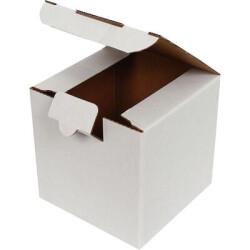 10,5*10,5*10,5cm Kutu - Beyaz - Thumbnail