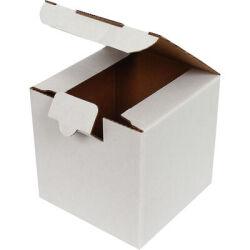 10,5*10,5*10,5cm Kutu - Beyaz