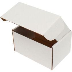 12*8*6,5cm Kilitli Kutu - Beyaz