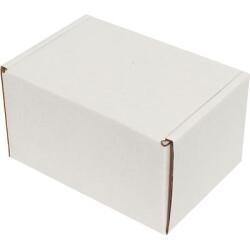 12*8*6,5cm Kilitli Kutu - Beyaz - Thumbnail
