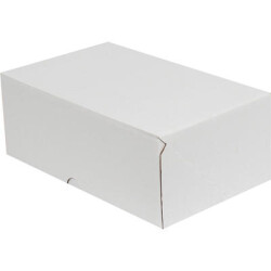 23,5*10*4,5cm E-Ticaret Kargo Kutusu - Beyaz - Thumbnail