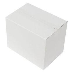 25*17*20cm Seperatörlü Uzun Bardak Kutusu - Beyaz