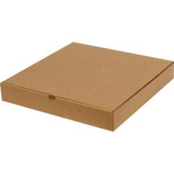 32*32*5cm Pizza Kutusu - Kraft - Thumbnail