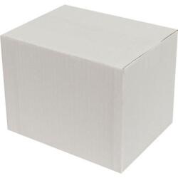 20*15*15cm Tek Oluklu Koli - Beyaz - Thumbnail