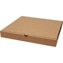 23,8*23,8*3cm Pizza Kutusu - Kraft - Thumbnail