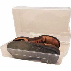Plastik Ayakkabı Kutusu - Bay [5'li]